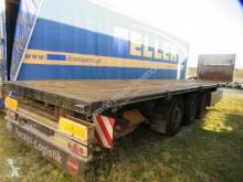 Kögel Tele-Sattel, Plateau mit Hckausschub semi-trailer used dropside flatbed