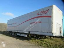 Fliegl tarp semi-trailer Jumbo Mega Messefahrzeug, Portaltüren, Lift