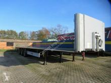 Fliegl dropside flatbed semi-trailer Plateau, Kilometer-Zählwerk, Vorführfahrzeug