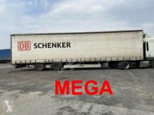 Sættevogn Fliegl Mega 3 m Innenhöhe SZS300 Twin2 Achs Planenaufl palletransport brugt