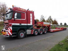 Semi remorque Faymonville STBZ-4VA Extendable Low Loader porte engins occasion