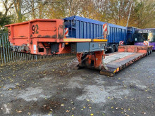 Semi remorque Nooteboom EURO-54-03/V - STEERING - BED 7,35 + 5,30 METER porte engins occasion