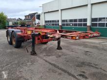 Semi reboque Van Hool Container chassis 20ft. porta contentores usado