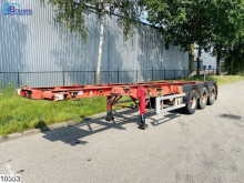 Semi remorque porte containers Dennison Container Bitum tank, Isolated, 27100 Liter, 150c, 4,5 Bar, 20 FT Container