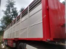 Semirremolque remolque ganadero para ganado bovino Leciñena