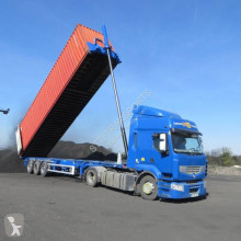 Semitrailer Asca containertransport begagnad
