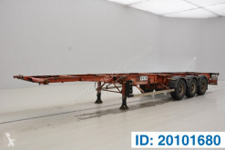 Trailer Fruehauf Skelet 20-30-40 ft tweedehands containersysteem