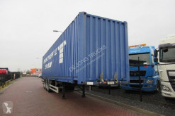 Groenewegen container semi-trailer Container Chassis + 45FT HC container -y2013