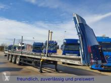 Schmitz Cargobull ponyvával felszerelt plató félpótkocsi * SCB*S3T *3.ACHS * LIFT * UNFALLSCHADEN *