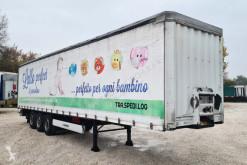 Krone függönyponyvaroló félpótkocsi SEMIRIMORCHIO, CENTINATO FRANCESE, 3 assi