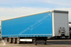 Semi remorque Krone CURTAINSIDER /STANDARD/ LIFTED AXLE & ROOF / savoyarde occasion
