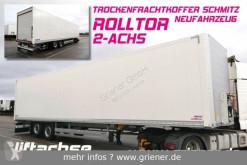 Semirimorchio Schmitz Cargobull SKO 18/ ROLLTOR / ZURRLEISTE /LIFT / 2-achs !!!! furgone nuovo
