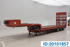 Semi reboque Verem Low bed trailer porta máquinas usado