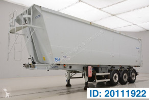Trailer Granalu 52 cub in alu tweedehands kipper