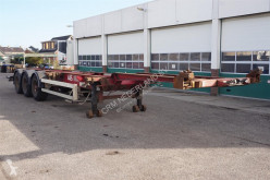 Semirimorchio Van Hool Container chassis 3-assig / 40ft. / 30ft. / 2x 20ft. portacontainers usato