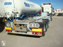 Asca surbaisse semi-trailer used container