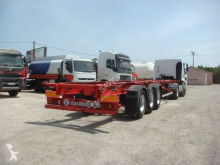 Semi remorque General Trailers 40 PIEDS MULTIPOSITIONS porte containers occasion