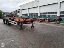 Semi remorque porte containers Van Hool Container chassis 3-assig / 40ft. / 30ft. / 20ft. / 2x20ft. / 20m