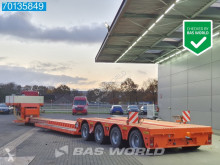 Semitrailer maskinbärare Doll T4H-L-S3/25 4x Hydr. Steeraxle Extendable Remote Detachable Neck