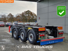 D-TEC container semi-trailer CC-20-3-T 20 Ft. ADR Liftaxle