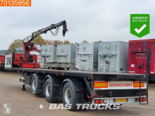 Pacton 2x Stuuras Kennis 14-R 60-2 Liftas semi-trailer used flatbed