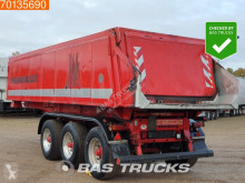 Langendorf tipper semi-trailer SKA 22m3 Thermo Isoliert Liftachse