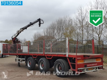 Pacton 2x Stuuras Kennis 14-R 60-2 semi-trailer used flatbed