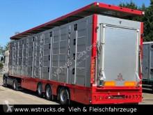 نصف مقطورة مقطورة المواشي Menke 4 Stock Lenk Lift Typ2 Lüfter Dusche Tränk