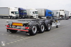 Naczepa Fliegl PODKONTENEROWA / ROZSUWANY PRZÓD + TYŁ do transportu kontenerów używana
