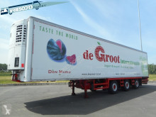 Chereau 2 assen gestuurd ! semi-trailer used mono temperature refrigerated