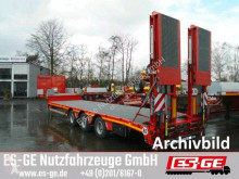 Faymonville heavy equipment transport semi-trailer 3-Achs-Satteltieflader mit Hebebett, tele