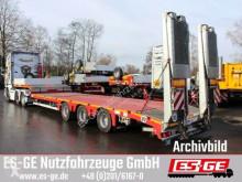 Semitrailer Faymonville 3-Achs-Satteltieflader mit Hebebett platta begagnad