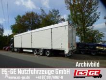 Fliegl 3-Achs-Schubbodenauflieger 92 m3 semi-trailer used box
