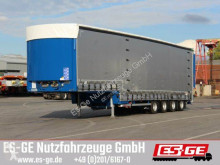 Dinkel 4-Achs-Jumbotieflader - doppelte Rampen semi-trailer used flatbed