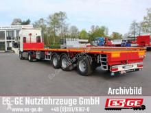 Auflieger Pritsche Es-ge 3-Achs-Sattelauflieger - teleskopierbar