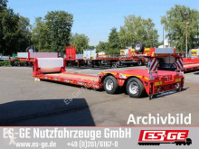 Naczepa Faymonville 2-Achs-Tiefbett 2x10 t platforma używana