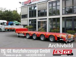 Faymonville flatbed semi-trailer 4-Achs-Satteltieflader - tele