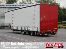 Dinkel flatbed semi-trailer 3-Achs-Jumbotieflader - Flügeltüren