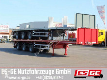 Broshuis 3-Achs-Sattelauflieger - 3fach tele semi-trailer used flatbed
