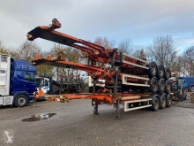 Semi remorque porte containers Van Hool STACK OF 3 PIECES - - BPW + DOUBLE BDF-SYSTEM