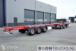 D-TEC container semi-trailer COMBIDOLLY + FLEXITRAILER 2014 | LZV COMBINATIE * TOP CONDITIE