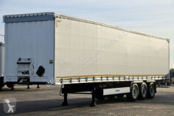 Semi reboque Krone CURTAINSIDER /STANDARD/ LIFTED AXLE & ROOF/ XL caixa aberta com lona usado