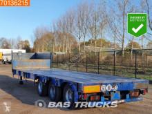 Netam Steelsuspension Hartholz-Boden semi-trailer used heavy equipment transport