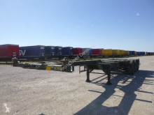 Semitrailer HFR 40 MULTI containertransport begagnad