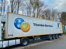 Semi reboque furgão Schmitz Cargobull Koffer Isoliert Thermo King Heizung Doppelstock