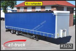 Semirimorchio centinato alla francese Schmitz Cargobull SCS 10 x 18, verzinkt, Mega, HU 11/2021