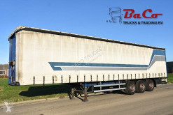 Pacton T3-001 - SAF AXLES - 1 LIFT AXLE - DISC BRAKES - SLIDING ROOF - semi-trailer used tautliner