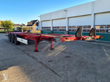 Semirremolque Krone Container chassis 40ft. / 30ft. / 20ft. / 2x Liftas / APK: 21-07-2021 portacontenedores usado