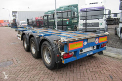 Semitrailer Pacton Container Chassis / ADR / BPW + Drum / 3x Extendable containertransport begagnad