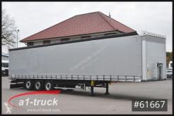 Félpótkocsi Schmitz Cargobull S01, verzinkt, Höhe 3650mm használt ponyvával felszerelt plató
